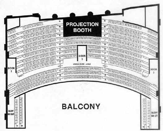 Mother Lode Theatre Balcony Seating Chart