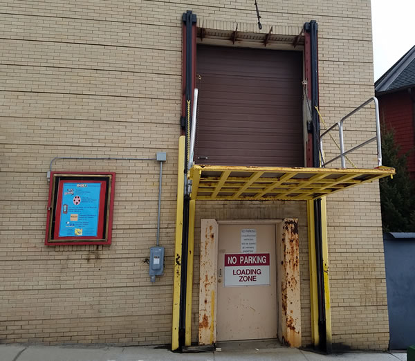 Mother Lode Theatre Loading Dock Photo