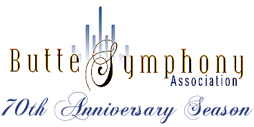 Butte Symphony Association 70th Anniversary Banner