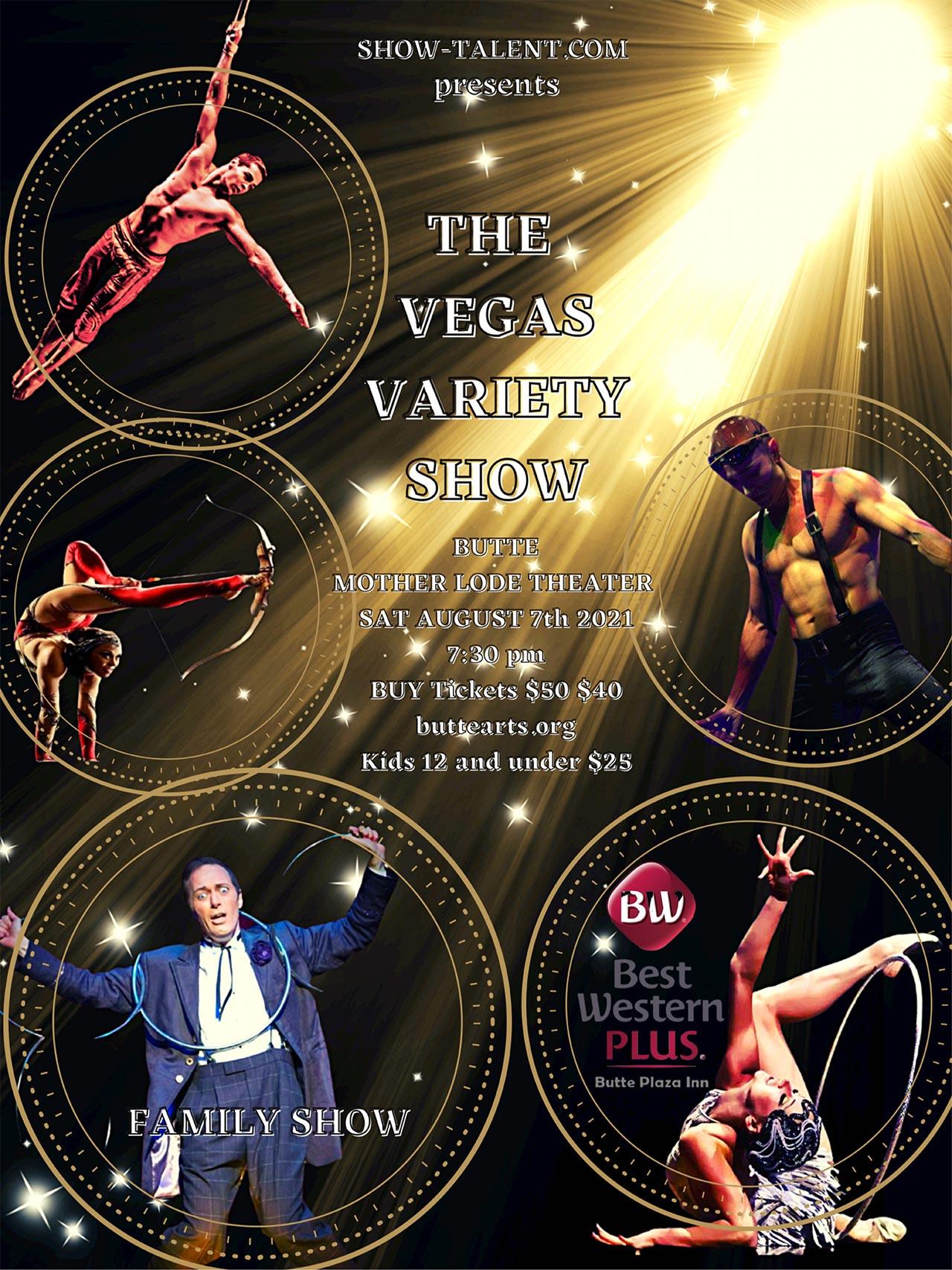 Vegas Variety Show Poster